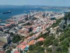 Gibraltar - widok z kolejki