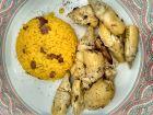 Karczochy z ryżem i rodzyknami