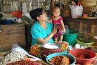 Na bazarze w Nyaug-U