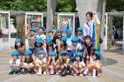 Hiroszima - dzieci na wycieczce