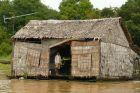 Pływająca chatka