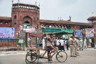 Indie, Delhi, Pod wielkim meczetem