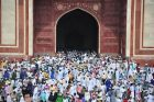 Indie, Agra, koniec Ramadanu