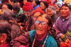Indie, mieszkańcy na festiwalu
