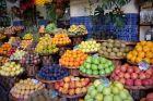 Na targu - owoce