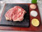 Stek na kamieniu