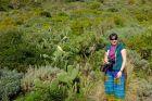 Hiszpania, Teneryfa, Ania w zieleninie