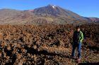 Hiszpania, Teneryfa, Ania, lawa i wulkan Teide