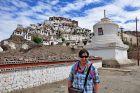 Indie, Tiksey, Ania i klasztor tybetański