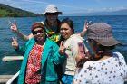 2014, Sulawesi, z mieszkańcami Tenteny
