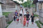 2014, Sulawesi, Ania i dzeci w Malenge