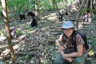 2014, Sulawesi, Ania i czarne czubate makaki