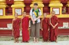 2013, Birma, Ania i mnisi
