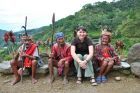 2012, Filipiny, Luzon, lud Ifugao.