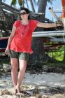 2012, Filipiny, na plaży.