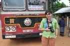 2011, Sri Lanka, cejloński autobus.