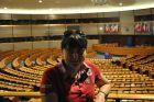 2011, Belgia, w Parlamencie Europejskim.