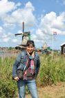 2011, Holandia i wiatrak.