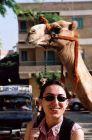 2003, Egipt, Ania jeszcze nie wie co ja czeka...