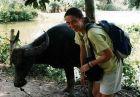 2002, Wietnam, Ania i bawołek:)