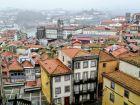 Porto - Widok spod Katedry Se