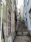 Porto - uliczki Ribeiry