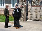 Lokalni mieszkańcy w Barszanie