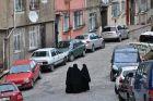Muzułmanki na ulicach Feneru