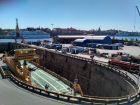 Wysepka Beckholmen - dok portowy